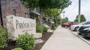 Parkstone Villas sign